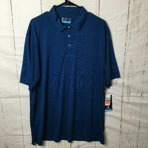 PGA Tour Mens Polo Classic Blue XL NWT
